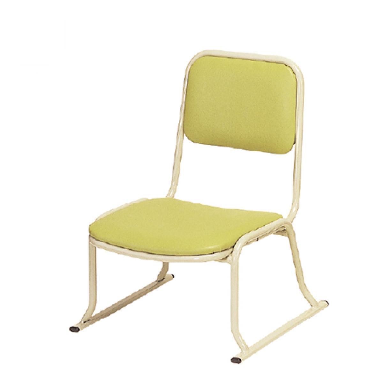 アルミ製本堂お詣り椅子 座高26㎝ AL-260
