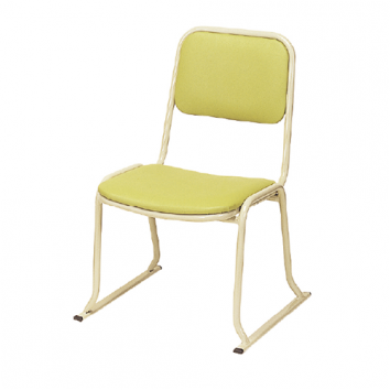 アルミ製本堂お詣り椅子 座高35㎝ AL-350